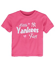 Outerstuff Toddlers New York Yankees Girly Fan T-Shirt