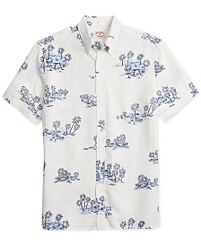 Brooks Brothers Men's Palm Tree Graphic Shirt