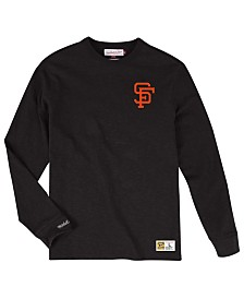 Mitchell & Ness Men's San Francisco Giants Slub Long Sleeve T-Shirt
