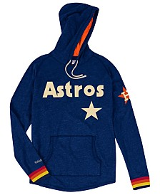 Mitchell & Ness Men's Houston Astros Midweight Appliqué Hoodie