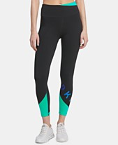 30605c545f DKNY Sport Colorblocked Ankle Leggings, Created for Macy's