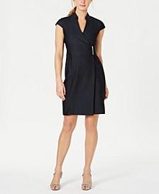 Wrap-Front Dress