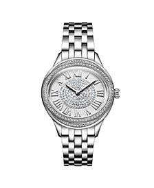 Women's Plaza Oval Diamond Watch
