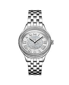 JBW Women's Plaza Oval Diamond Watch