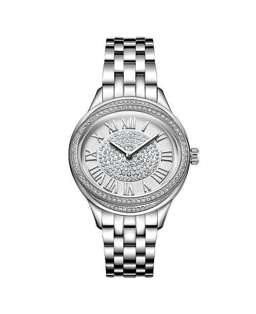 Jbw Women's Plaza Oval Diamond Watch