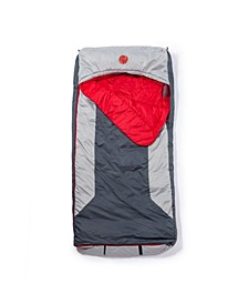 Home-Away-Bed M-3D 10 Degree Fahrenheit -12.2 Degree Celsius Multi-Down Hooded Mummy Sleeping Bag and Tall XL
