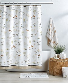 Destinations Bird Haven Shower Curtain