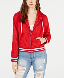 Juicy Couture Hooded Zip-Front Jacket