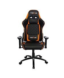 Techni Sport TS-5000 Ergonomic Video Gaming Chair, Quick Ship