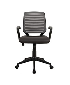 Techni Mobili Comfy Rolling Mesh Task Chairs, Quick Ship