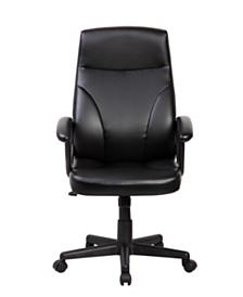 Techni Mobili Medium Executive Office Chair, Quick Ship