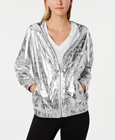 Calvin Klein Performance Water-Repellent Hooded Jacket