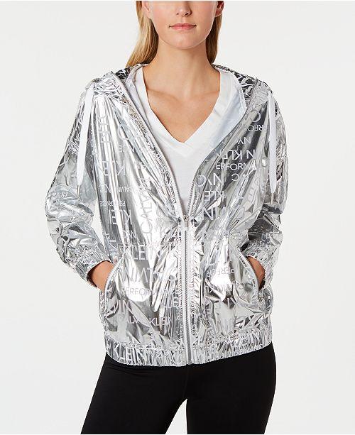 Calvin Klein Water-Repellent Hooded Jacket