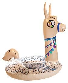 "Pool Candy Glitter Llama 48"" Pool Tube"