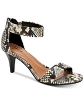ee0324d717 Style & Co Paycee Two-Piece Dress Sandals, Created for Macy's