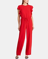 1f15f10abaab Red Jumpsuits   Rompers for Women - Macy s