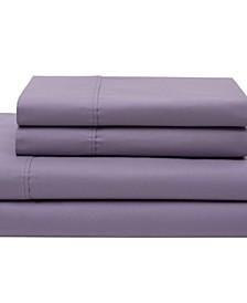 Cotton Percale Full Sheet Set