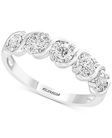 EFFY® Diamond Band (1/2 ct. t.w.) in 14k White Gold