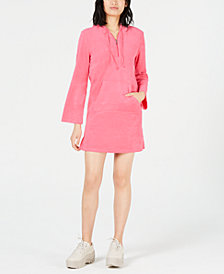 Juicy Couture Terry Hooded Mini Dress