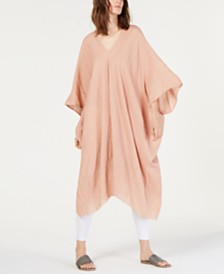 Eileen Fisher Organic Cotton V-Neck Caftan