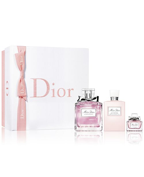 3ed0a1d75b901 Dior Miss Dior Blooming Bouquet 3-Pc. Gift Set. Macy s   Beauty   All  Perfume