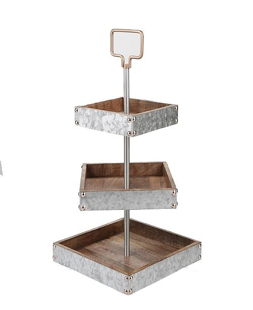 Mind Reader 3 Tier Square Stand
