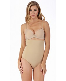 InstantFigure Hi-Waist Panty with Non-Binding Double Control Waistband, Online Only