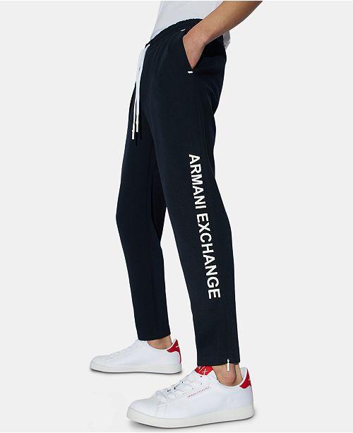A|X Armani Exchange Men's Elastic Jogger Pants