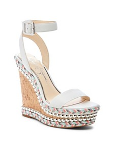 Jessica Simpson Alinda Woven Platform Wedge Sandals