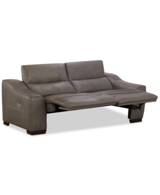 Ruthin 2-Pc. Leather Sectional Sofa with 2 Power Recliners