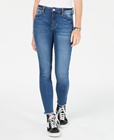 56a32143fdf Celebrity Pink Juniors  High-Rise Skinny Jeans
