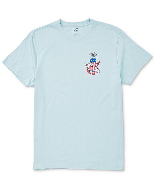 Billabong Toddler Boys Firecracker Graphic Cotton T-Shirt
