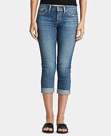Silver Jeans Co. Suki Rolled Capri Jeans