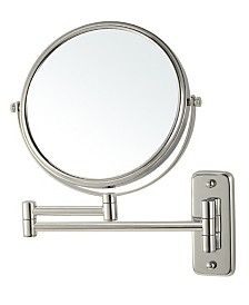 Nameeks Glimmer Wall-Mounted Double Sided 3x Makeup Mirror