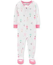 Carter's Toddler Girls Ballerina Pajamas