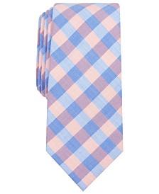 Bar III Men's Palmer Slim Check Tie, Created for Macy's