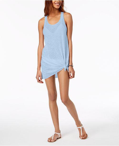 de00945221 Miken Racerback Cover-Up Dress & Reviews - Swimwear - Women - Macy's