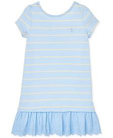 Polo Ralph Lauren Toddler Girls Cotton Jersey T-Shirt Dress
