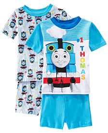 AME Toddler Boys 2-Pack Thomas the Train Graphic Cotton Pajamas