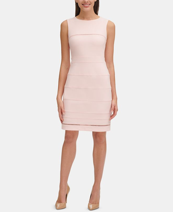 Tommy Hilfiger Circle-Trim Dress