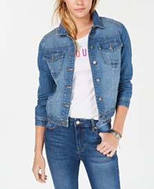 Love, Fire Juniors' Tinseltown Jean Jacket