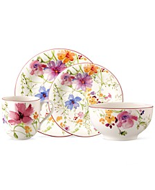 Dinnerware, Mariefleur 4 Piece Place Setting