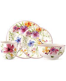 Villeroy & Boch Dinnerware, Mariefleur 4 Piece Place Setting