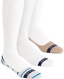 Sperry Men's Socks 3-Pack, No Show