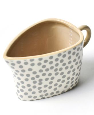 by Laura Johnson Neutral Nouveau Oval 2 Cup Measuring Cup