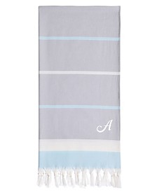Linum Home Personalized Sea Side Fun Pestemal Beach Towel Collection