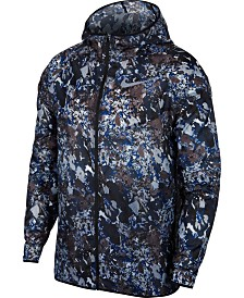 Nike Men's Run Wild Windrunner Printed Packable Jacket