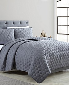 Maxwell 3 Piece Full/Queen Quilt Set