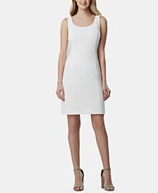 Scoop-Neck Sleeveless Dress
