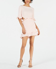 Rachel Zoe Karly Ruffled Mini Dress